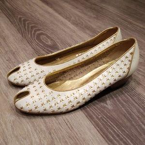 Vintage NINE WEST Peep Toe Heel